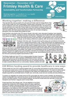 Frimley Health and Care Newsletter issue 2